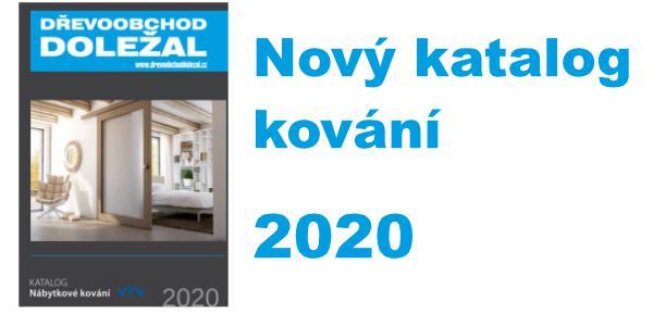 Katalog kování 2020