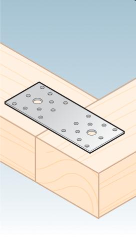 LP1 - spojka plochá 100x35x2,5 mm 2