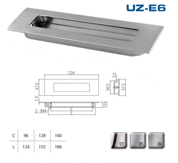 Uch. UZ-E6-128-06 nerez 1
