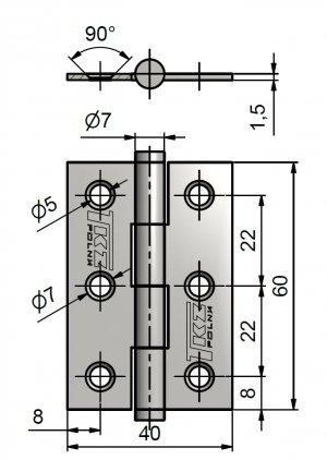 Zaves KZ 60 ZN 1