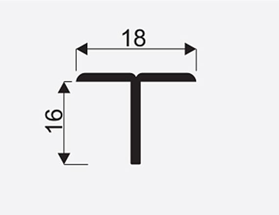 Spojovaci lista T oliva 3m 1
