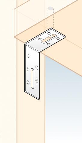 KRD 2 - úhelník stavitelný 70x55x30x2,0 mm 2