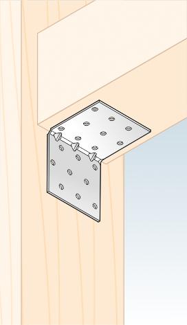 KMP 5 - úhelník montážní s prolisem 60x60x60x1,5 mm 2