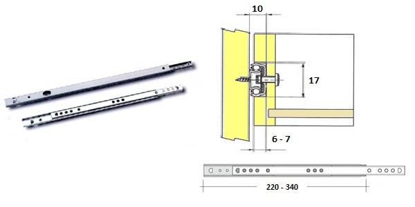 Mikrovysuv 190mm 08.091.019.05 1