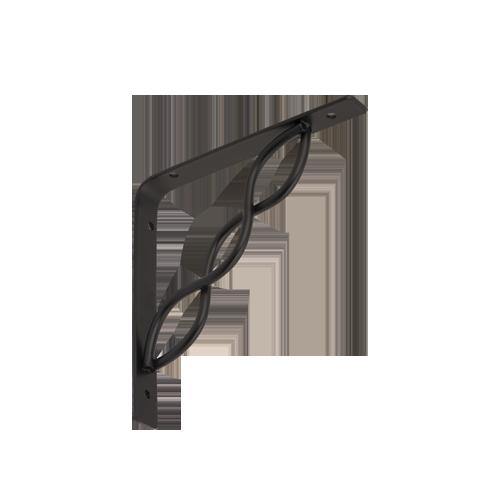 WPRP 150 konzole se splétanou vzpěrou 150x150 černá 2