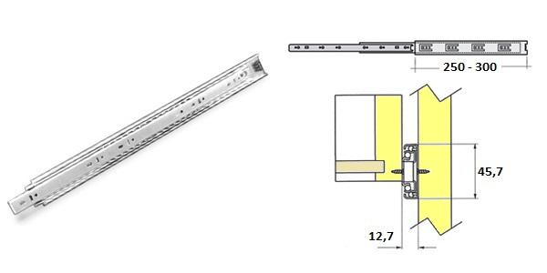 Plnovysuv 550mm kul. bez tlum. 1