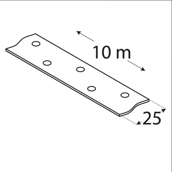 TM1/10 - montážní páska 25x1,5 mm 1