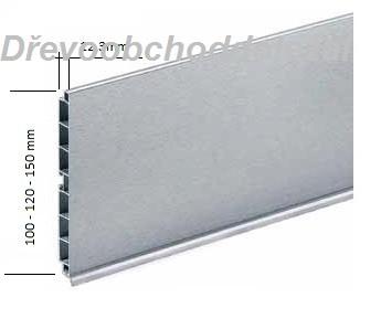 Sokl S100/NE nerez broušený  4m