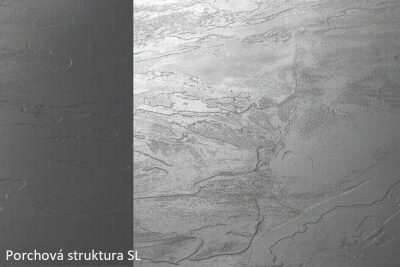 PD K093 SL Grey 4100*635*38 olepeno ABS