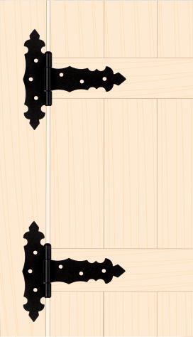 ZTD 100 C Závěs trojúhelníkový ozdobný 100x30x65x2,0 mm černý 3