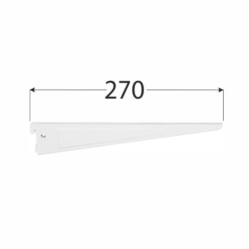 WSD 270b systémová konzola dvojitá 270 mm bílá 1