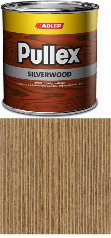 ADLER Silverwood lazura stara seda 0,75l 1