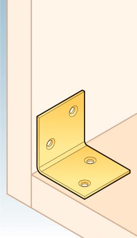 KS2 - úhelník široký 40x40x40x1,5 mm 2