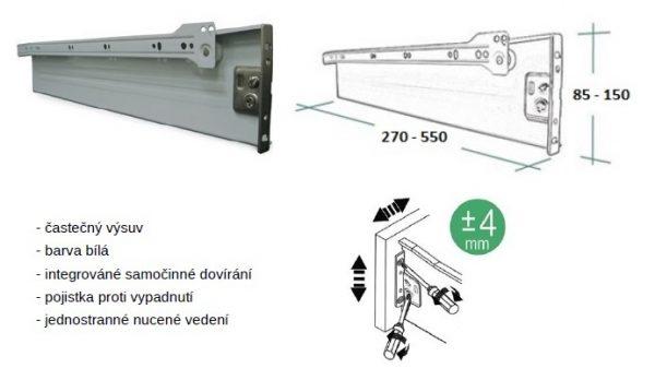 Metabox 150/550mm 52.3F01.550.62 1
