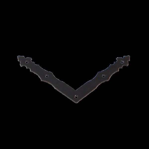NAD 1 C - Rohovník ozdobný černý 150x150x25x2,5 mm 3
