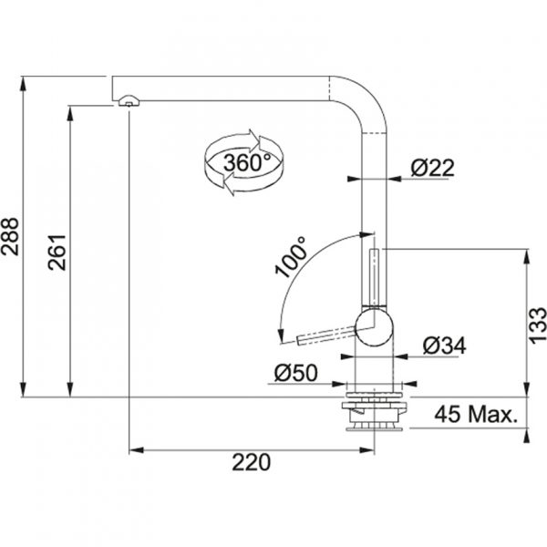 Baterie FN 9311 chrom 3