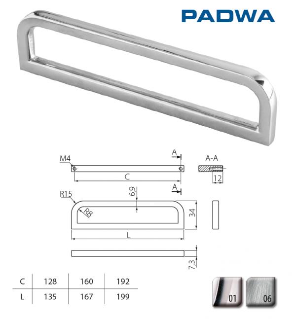 Uch. UZ-PADWA-192-06 nerez 1