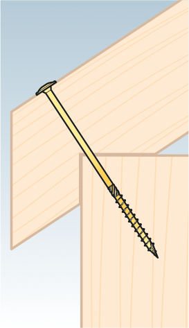 CT 06140  tesařský vrut s talířovou hlavou 6×140 100kus/bal