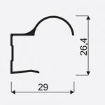 Madlo S Focus II 16mm stř. nasouvací 03840, délka 2,7m 4