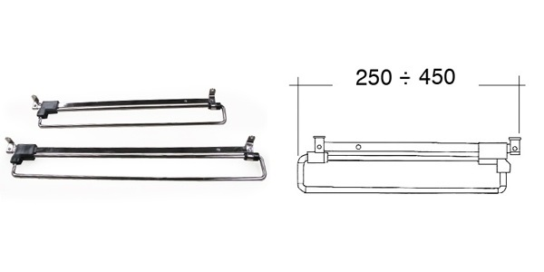 Vys.vesak 450mm 61.E420.045.10 1