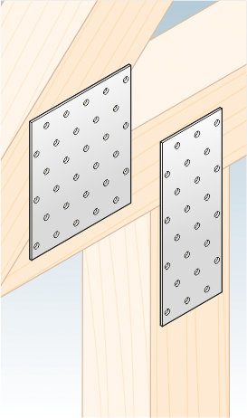 PP13 – destička perforovaná 240x100x2,0 mm