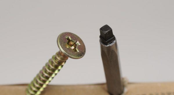 Bit Uniquadrex R-0/2 dlouhy 50mm - profi 2