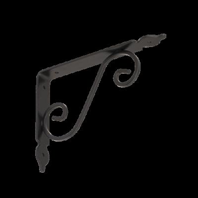 WOZ 190 HB konzole dekorativní kovaná 190×140 gradovaná černá