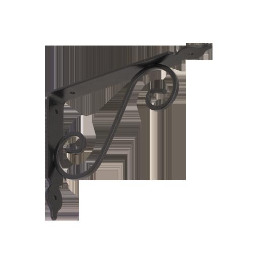 WOZ 190 HB konzole dekorativní kovaná 190x140 gradovaná černá 2