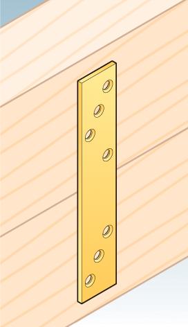 LG2 – spojka tlustá 193x35x4,0 mm
