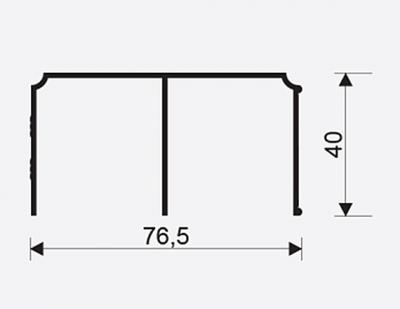 Horni vedeni Gem. oliva 2.35m