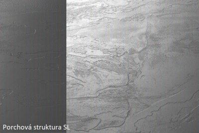 PD K093 SL Grey 4100*900*38 olepeno ABS