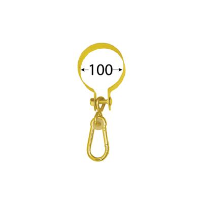 MHO   100  uchycení houpačky s kruhovou objímkou 100 mm