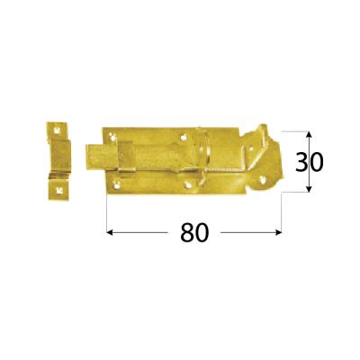WZP 80  Zástrč jednoduchá mod.2 80x30x3,0 mm