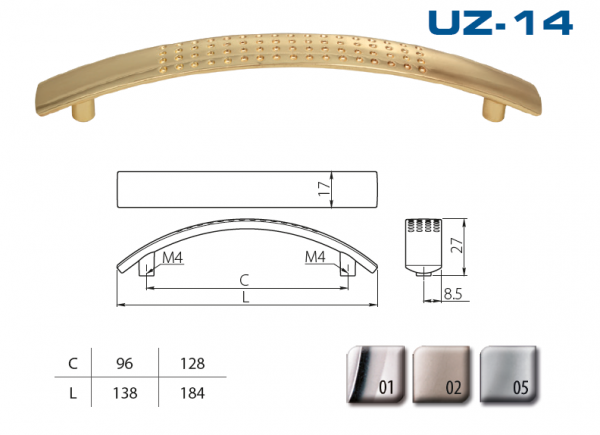 Uch. UZ-14-128-01 chrom 1