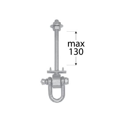 MHD   130  uchycení houpačky typ D  M12*130 mm