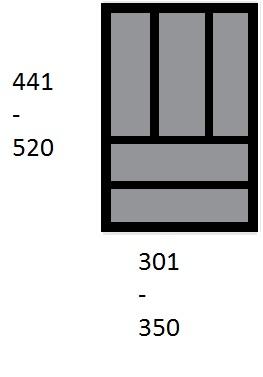 Pribornik 441-520/301-350 44952/9194933 1