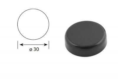 Krytka Danco černá (Záv. na sklo)