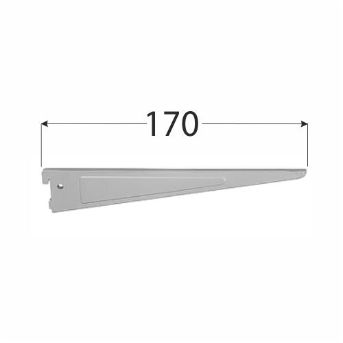 WSD 170s systémová konzola dvojitá 170 mm šedá 1
