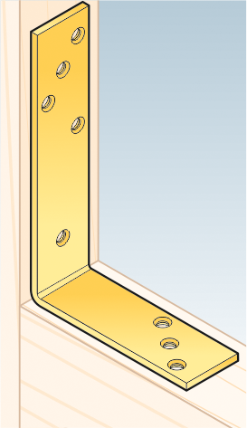 KB3 – úhelník trámový 180x120x40x5,0 mm