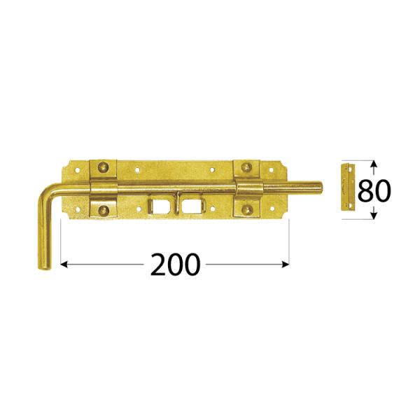 WRG 240 Zástrč zasouvací 240x60x2,0 mm 1