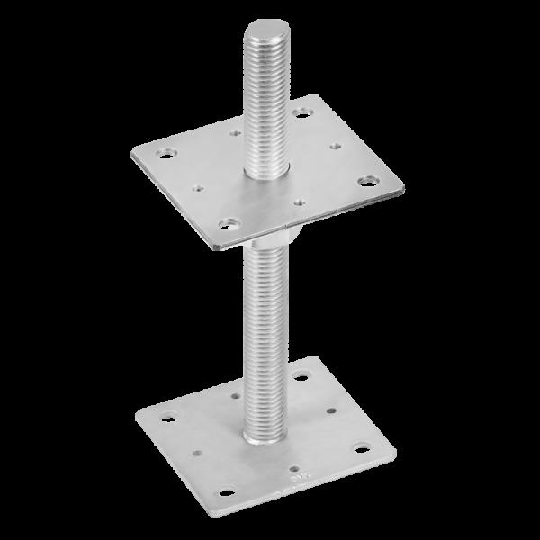 PSR 100 (10*250) Patka sloupku stavitelná šroubem d24 3