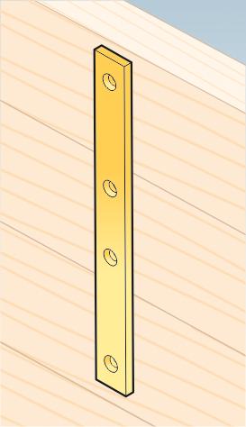 LW7 - spojka úzká 293x25x5,0 mm 2