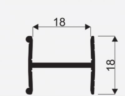 Spojovaci lista H18mm oliva 3m