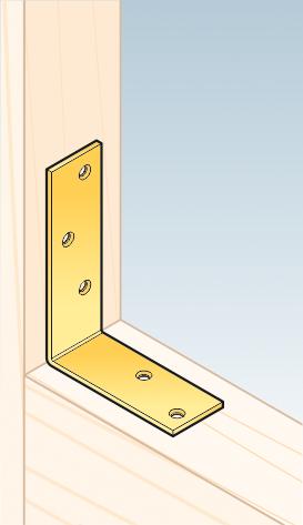 KB1 – úhelník trámový 100x75x30x3,0 mm