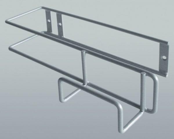 Držák pro žehlící prkno a hadici vysavače - šedý 1