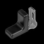 Rekt.kov. malé - černá 28x28mm 7