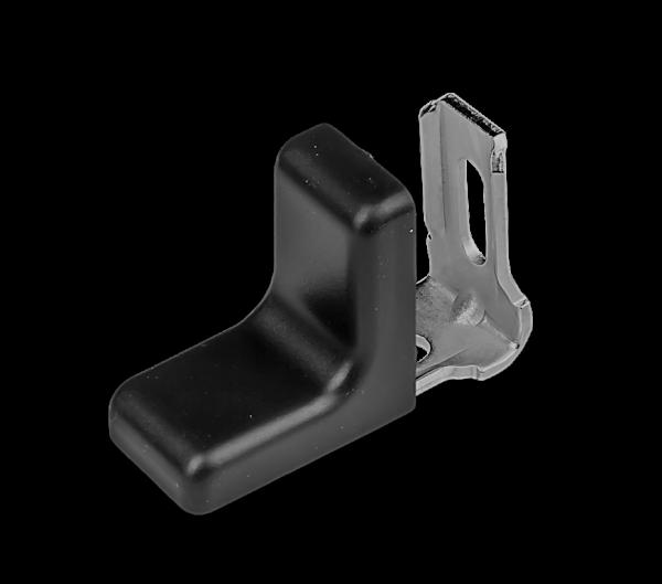 Rekt.kov. malé - černá 28x28mm 1