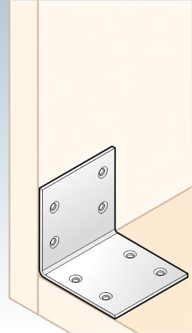 KSO 3 - úhelník široký (zinc coated) 60x60x60x2,0 mm 2