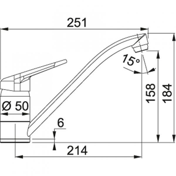 Baterie FC 9541.099 grafit/chrom 2