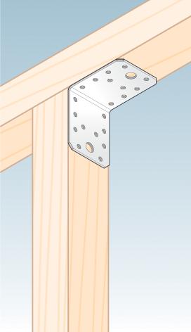 KL2 - úhelník spojovací 70x70x55x2,5 mm 2
